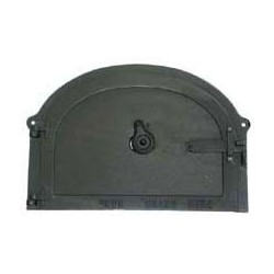 Raised cast iron door 43 cm
