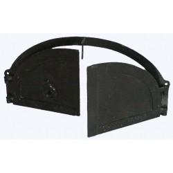 Cast iron door 50 cm