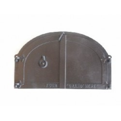 Raised cast iron door 50 cm