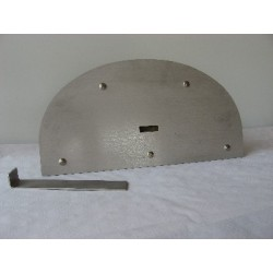 Refractory raised insulating door 50 cm