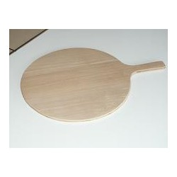 Wooden spatula without a handle Ø 30 (5 units)
