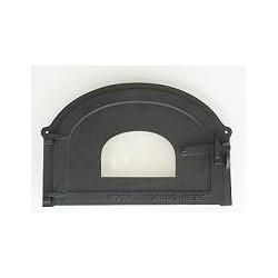 Standard cast iron glass door