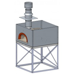 WOODFIRED OVENF1200L FOR VEHICLE