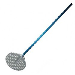 Aluminium drilled spatula Ø 32 cm