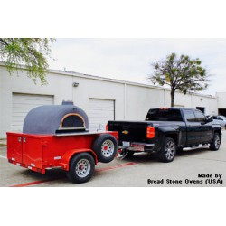 OVEN ON A TRAILER