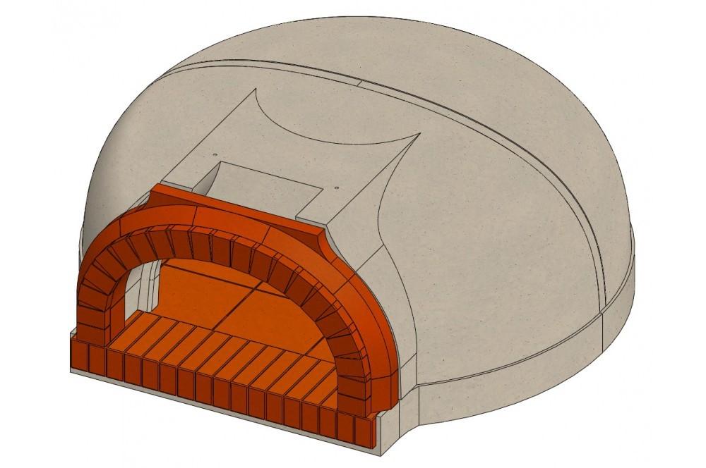 nos fours: forme parabolique