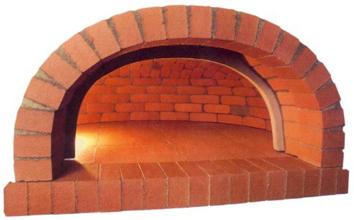 Fabrication du four pain le four en terre cuite four for Brique refractaire pour four a pain